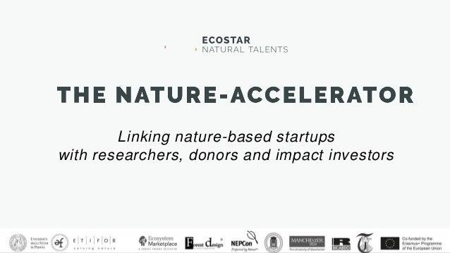 NATURE-ACCELERATOR   DEMO DAY 2018: Alessandro Leonardi pitch Slide 2