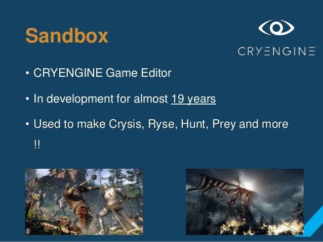 Alessandro Osima - Making of Sandbox : CryEngine Game Editor