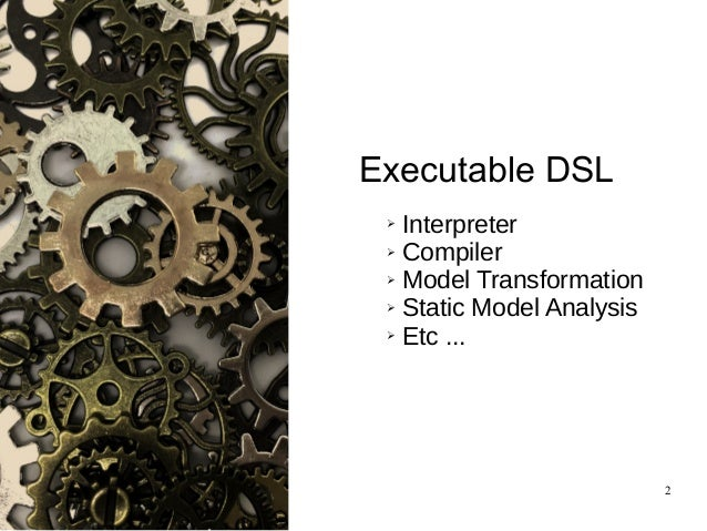 EcoreTools-Next: Executable DSL made (more) accessible Slide 2