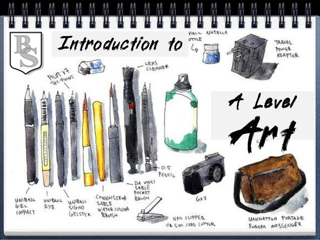 Welcome to A LEVEL ART, this is the beginning of a hard, but enjoyable two years. Art is not easy; it's about hard work, c...