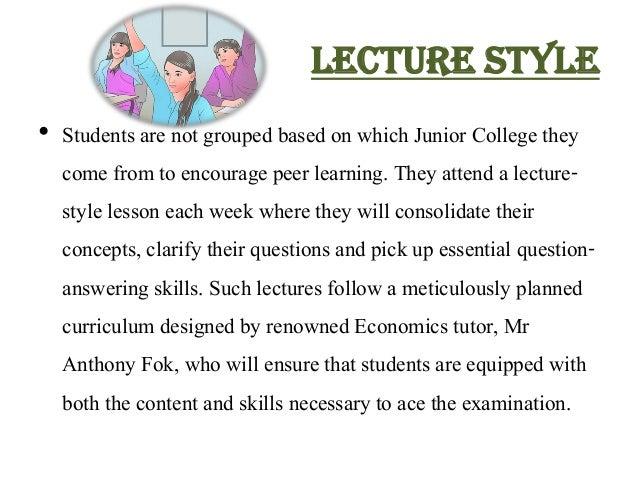 A Level Economics Tuition Slide 2