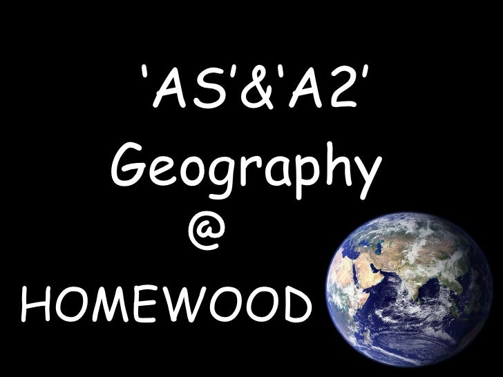 ' AS'&'A2'  Geography  HOMEWOOD @