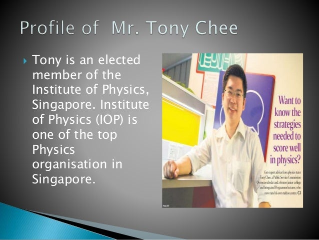 A Level Physics Tutor Slide 2