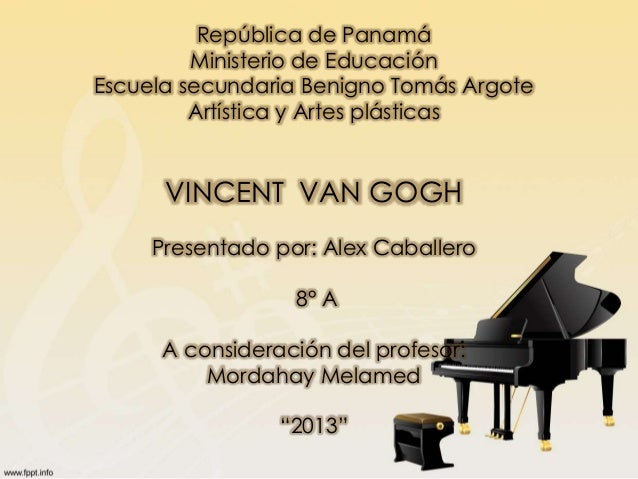 Vincent van Gogh Slide 2