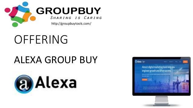 Alexa Group Buy SEO Tools Slide 2