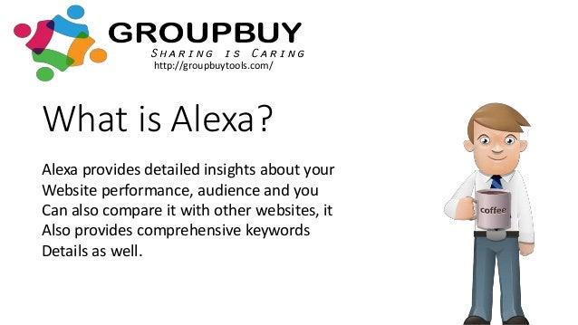 Alexa Group Buy SEO Tools Slide 3