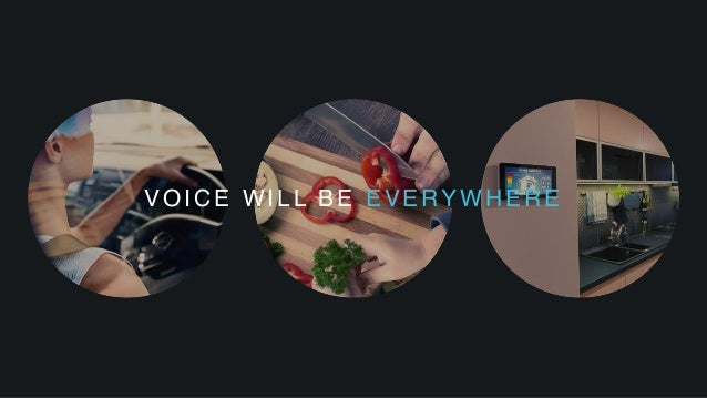 VOICE WILL BE EVERYWHERE