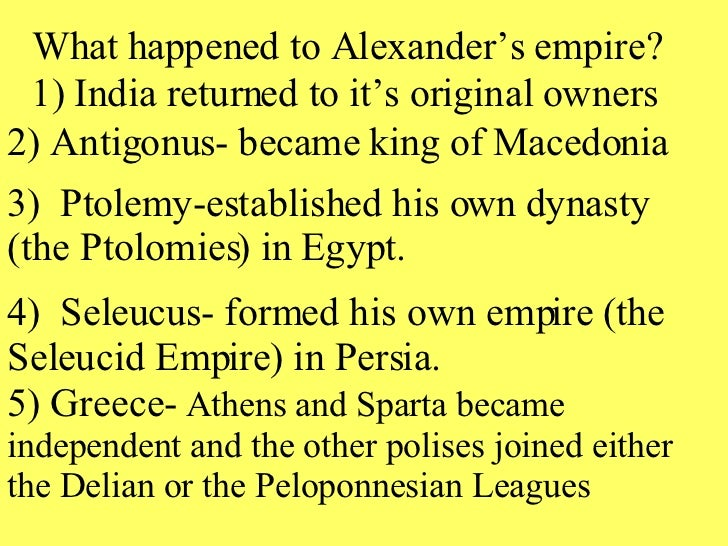 alexander the great essay thesis Essays - largest database of quality sample essays and research papers on alexander the great thesis outline.
