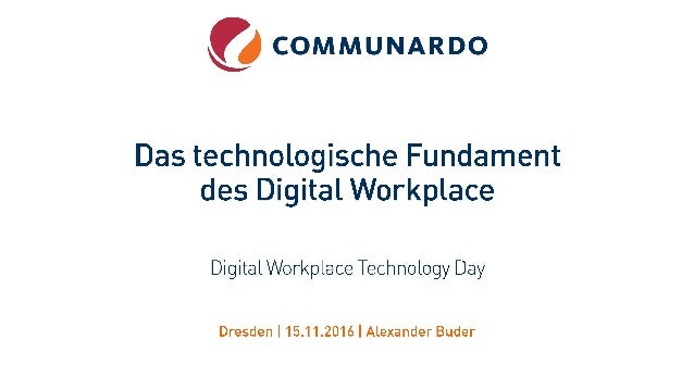 What is your long-term digital workplace platform vision?