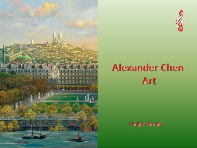 Hyper Realist Alexander ChenArtist Alexander Chen. Born in 1952an ordinary man with anextraordinary vision and talent, was...