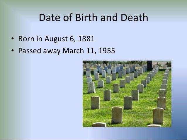 alexander fleming date of birth