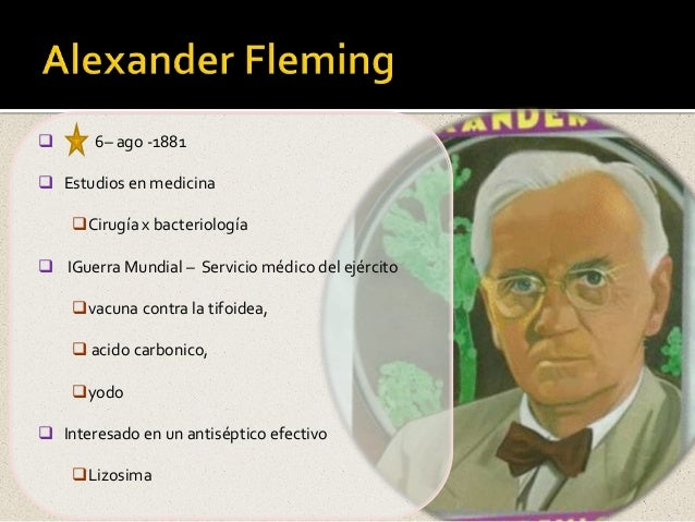 alexander fleming 2 Here are some facts about alexander fleming alexander fleming was born in lochfield, ayrshire (scotland) on 6th august 1881 when he was twenty, alexander started a.