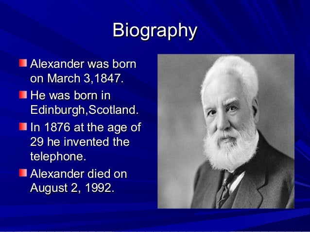 the life and times of alexander graham bell the inventor of telephone Grosvenor, edwin s, and morgan wesson alexander graham bell: the life and  times of the man who invented the telephone new york: harry abrams, inc,.