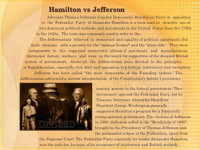 Apa Essay Paper Hamilton Vs Jefferson Essay Darie Md Why Is Teddy Roosevelt On Mt Rushmore Essay Sample For High School also How To Write A Proposal For An Essay How Not To Go About A Programming Assignment Hamilton Vs Jefferson  Secondary School English Essay