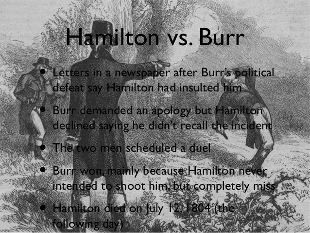 hamilton vs burr essay writer