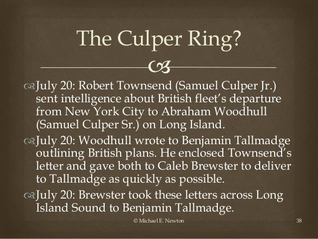 Rhode Island Culper Ring