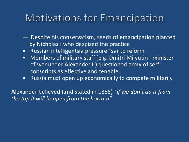 Emancipation Manifesto