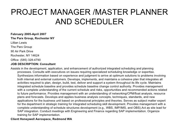 Integrated Master Scheduler Jobs