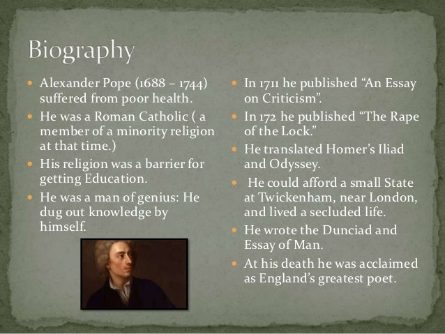 alexander pope and john dryden alexander pope 2