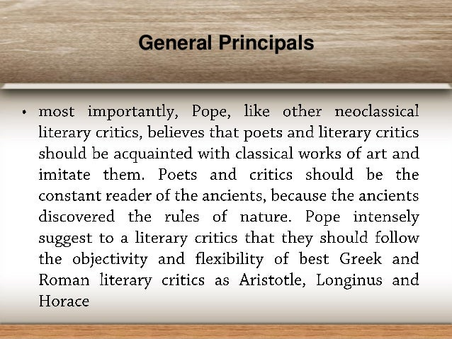 pope essay on criticism part 2