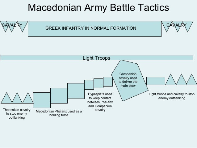 The Macedonian Army Alexander The Great