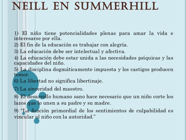 Alexander Sutherlan Neill Slide 3