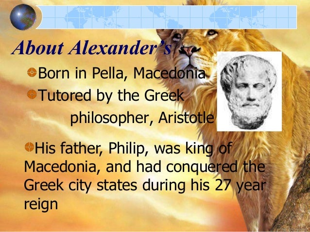 the life of alexander the great Alexander the great and the hellenistic age the hellenistic age 336-30 bc (from alexander's crowning to the death of cleopatra) the word hellenistic comes from the root word hellas, which.