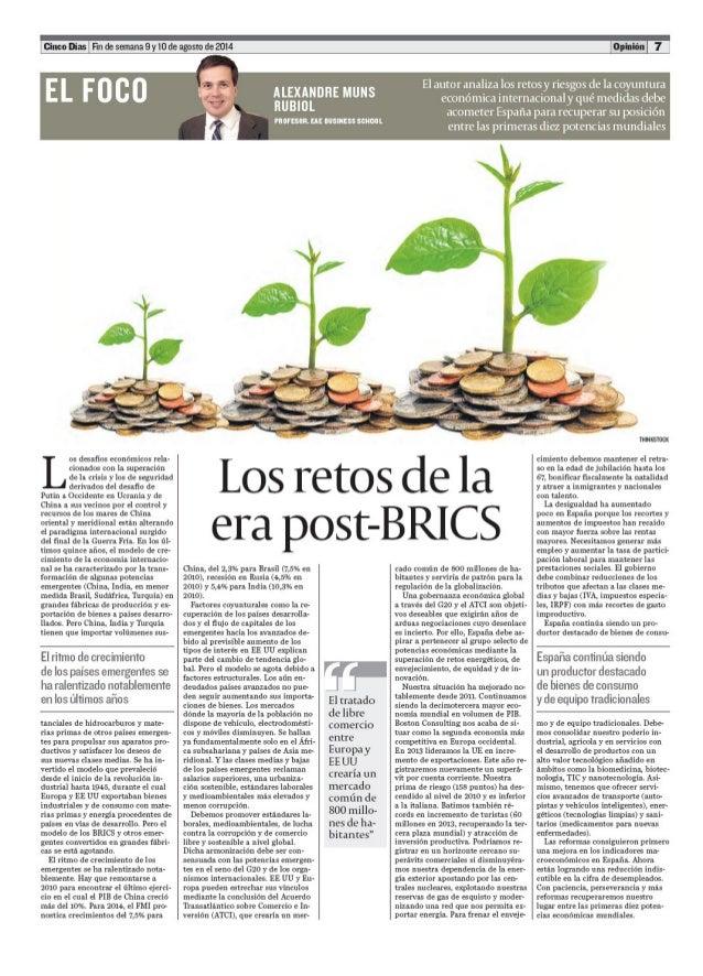 Alexandre muns rubiol analiza los retos y riesgos de la economia en españa y su posicion entre las diez primeras potencias(2)