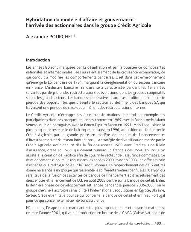 29-Pourchet_Mise en page 1 12-09-05 14:34 Page433                Hybridation du modèle d'affaire et gouvernance :         ...