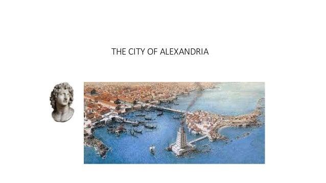 THE CITY OF ALEXANDRIA