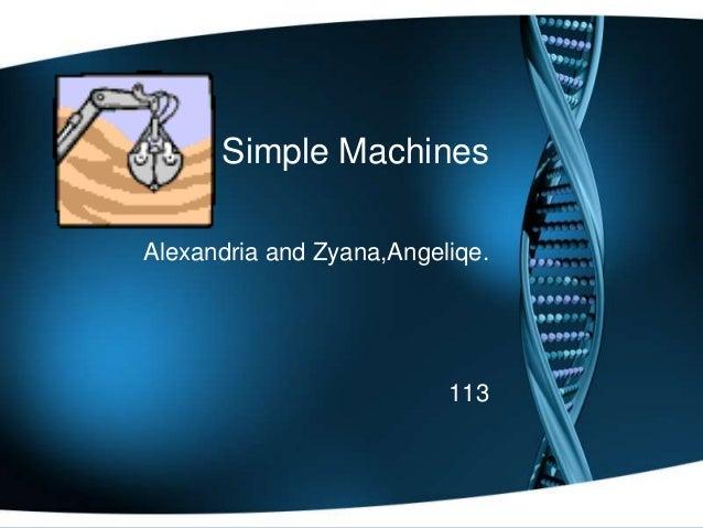 Simple MachinesAlexandria and Zyana,Angeliqe.113