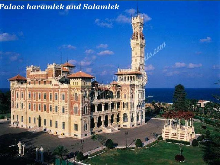 Palace haramlek and Salamlek