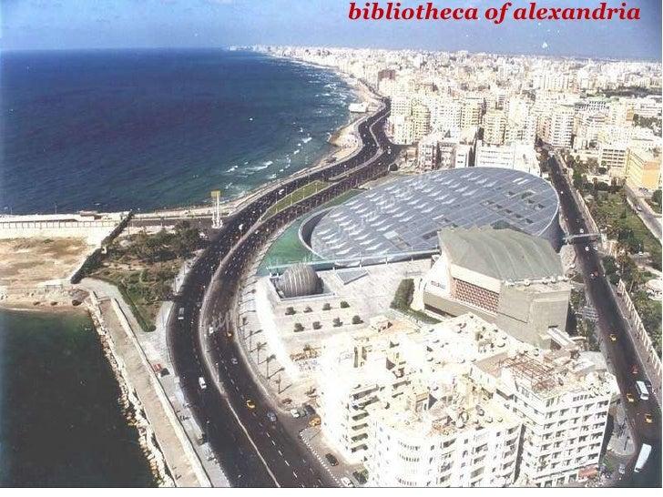 bibliotheca of alexandria