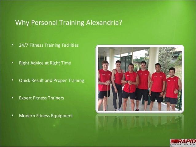 Alexandria personal trainer Slide 3
