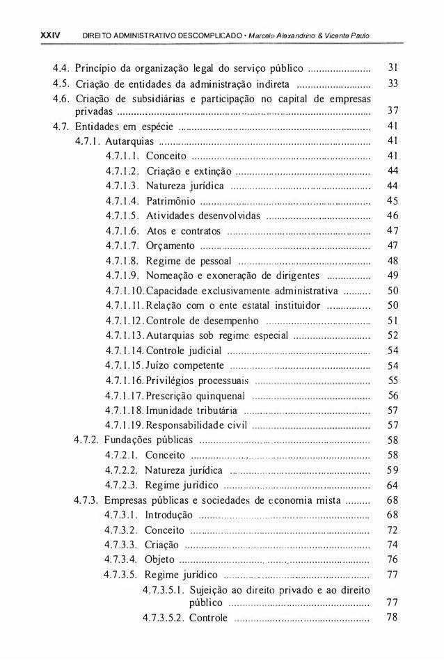 MARCELO BAIXAR DE LIVRO ADMINISTRATIVO ALEXANDRINO DIREITO