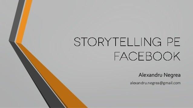 Alexandru Negrea alexandru.negrea@gmail.com