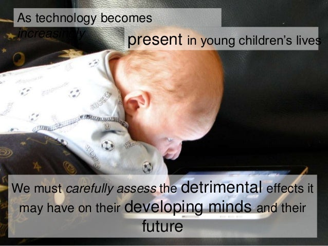 children and the risks of technology We are often told that many of today's jobs will be made redundant by technology , but this isn't the real risk to our children's futures.