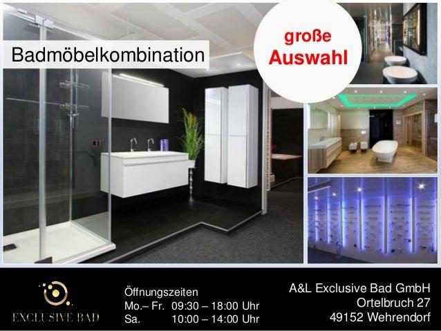 A&L Exclusive Bad GmbH - Duschkabine / Duschen | Badezimmer | Badmöbe…