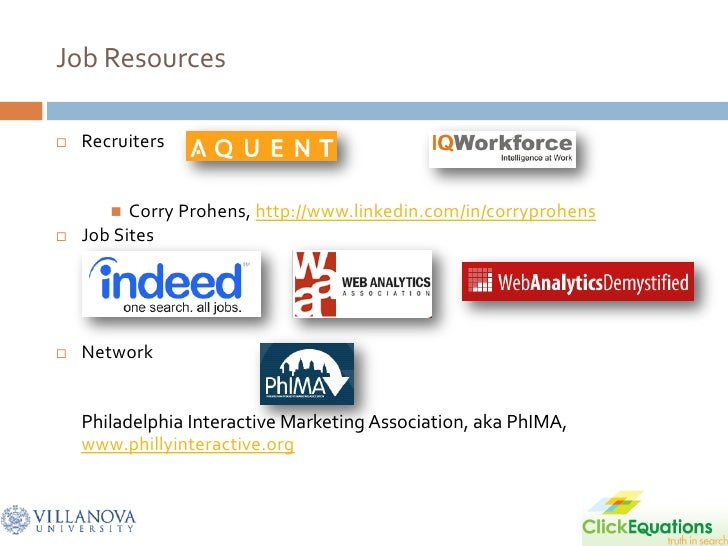 Job Resources     Recruiters            Corry Prohens, http://www.linkedin.com/in/corryprohens    Job Sites        Net...