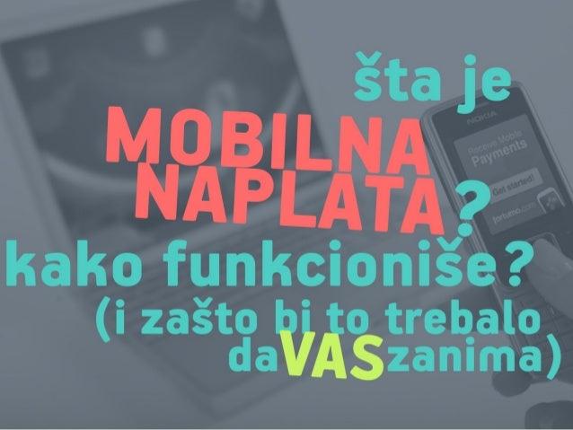 Alex Čović - Šta je mobilna naplata i kako funkcioniše?
