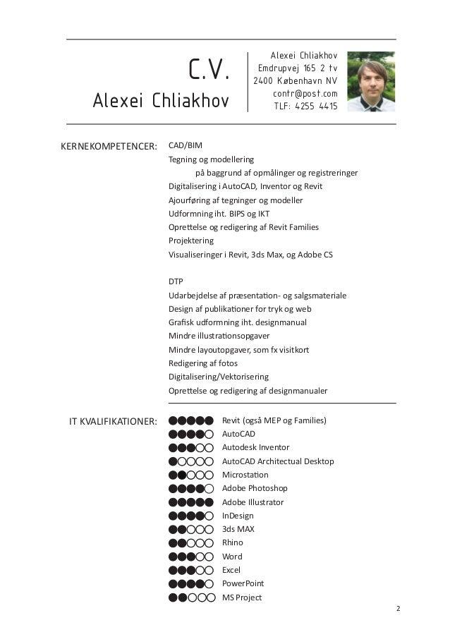 alexei chliakhov cv