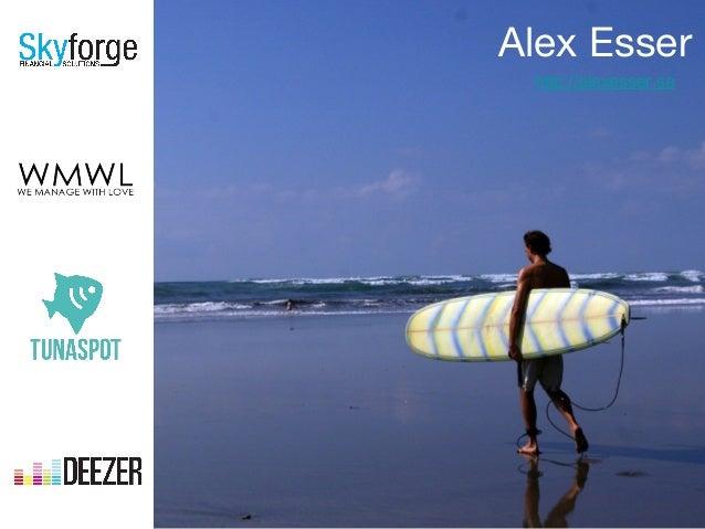 Alex Esser http://alexesser.se