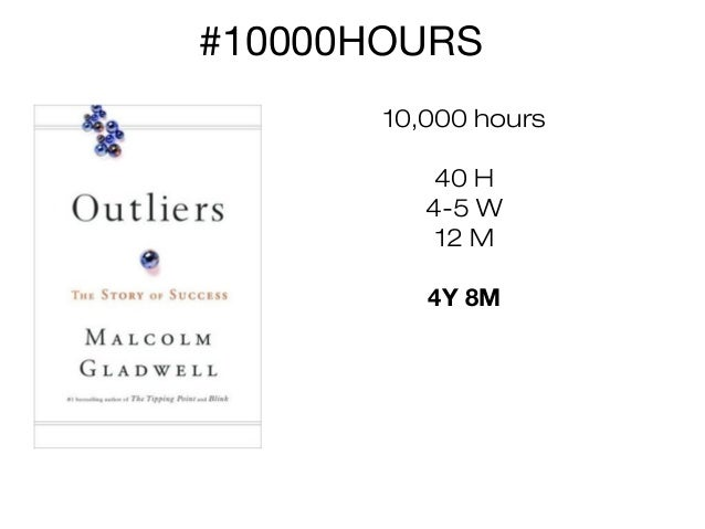 #10000HOURS 10,000 hours 40 H 4-5 W 12 M 4Y 8M