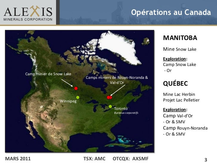Opérations au Canada• Click to edit Master text styles                                             MANITOBA    – Second le...