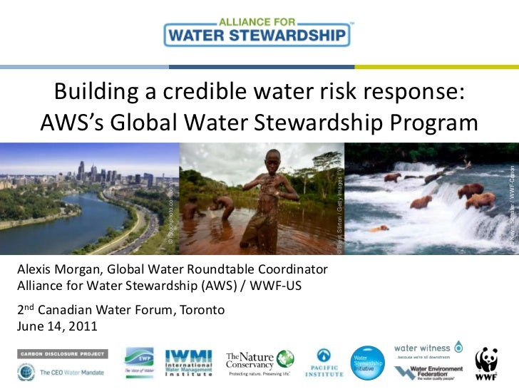 Building a credible water risk response: AWS's Global Water Stewardship Program<br />©<br />© Brent Stirton / Getty Images...