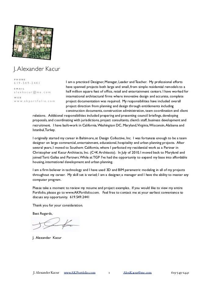J. Alexander KacurPHONE619-549-2441                     I am a practiced Designer, Manager, Leader and Teacher. My profes...