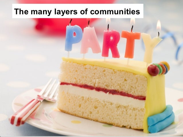 The many layers of communities