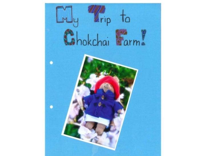 Alex's trip to Chokchai Farm