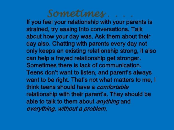 Alexus Communicating with parents Slide 2