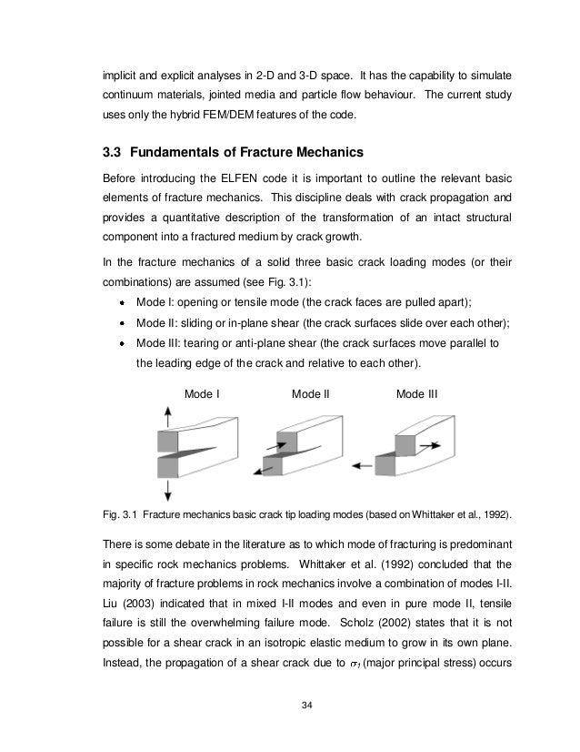 Phd Thesis Finite Element Analysis - Three dimensional finite
